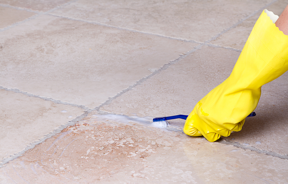 How to Keep Your Tile Floor Grout Grime Free