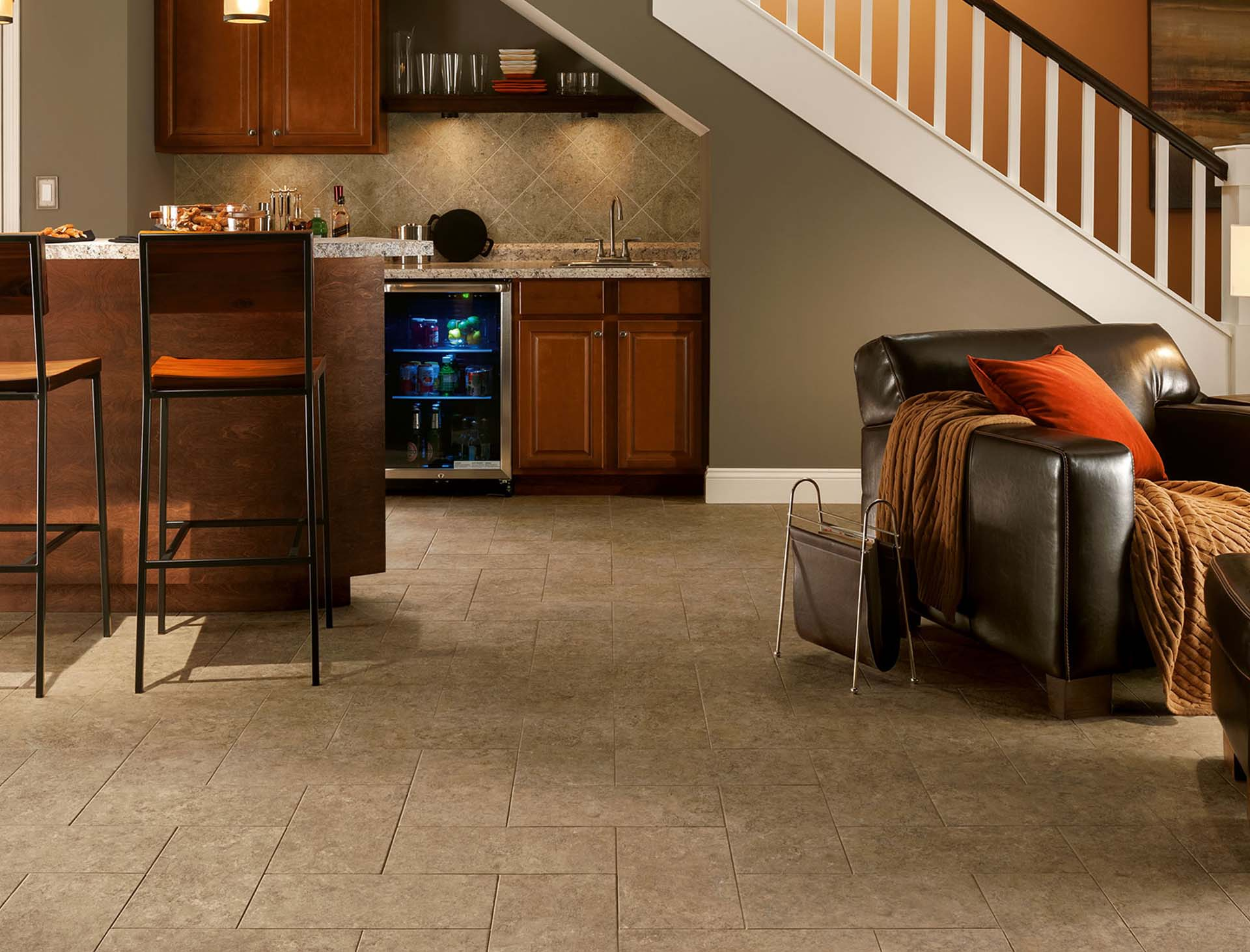 luxury vinyl tile flooring installation edmonton