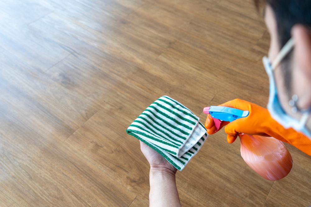 how to care for vinyl tile flooring